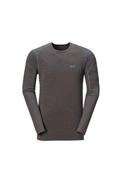Jack Wolfskin Merino Long Shirt Erkek Sweatshirt 1802162-6032