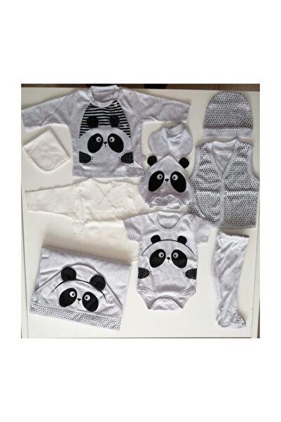 Panda Gri 10'lu Hastane Çıkışı