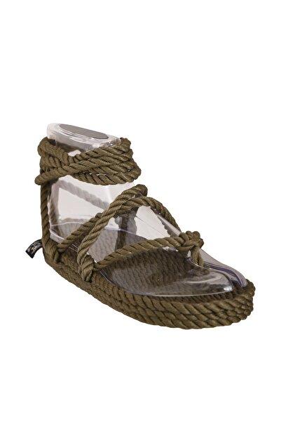 Nomadic State Of Mind Yeşil Kadın Sandalet
