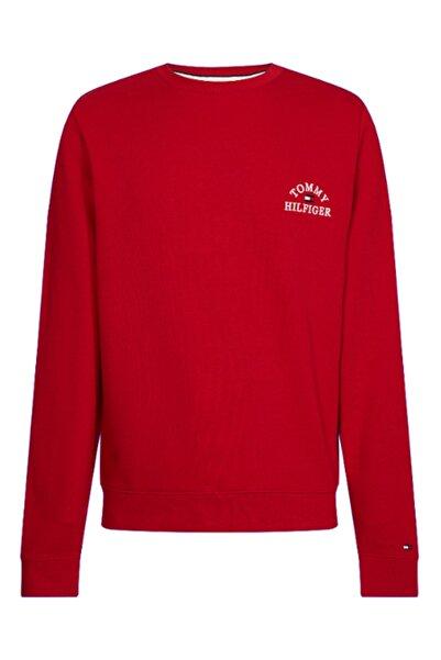 Tommy Hilfiger Erkek Basic Embroıdered Sweatshirt MW0MW12315