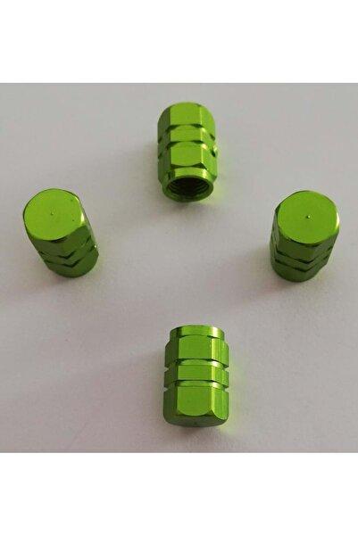 Sunix Alüminyum Altıgen Sibop Kapağı 4 Lü Yeşil