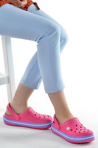 Ayakland Akn E195.z.000 Hastane Ortopedik Kadın  Sandalet Terlik