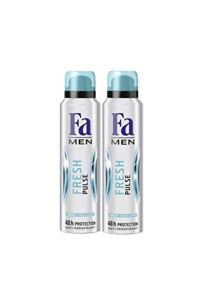 Fa Deodorant Fresh Pulse Erkek 150 Ml 2 Li