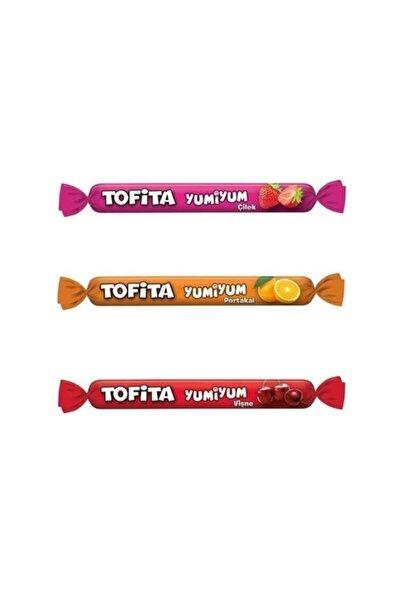 Tofita Yumiyum 120 Li Karışık Kutu. Çilek + Portakal + Vişne