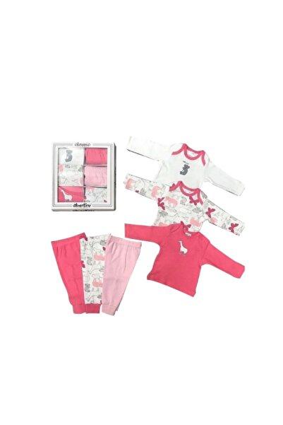 Abentiny Kız Bebek 6 Lı Set A15955 12-18 Ay