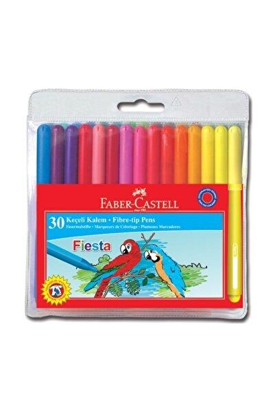Faber Castell Fiesta Keçeli Kalem 30'lu