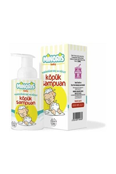 Minoris Baby Yenidoğan Saç Ve Vücut Köpük Şampuan 300 ml