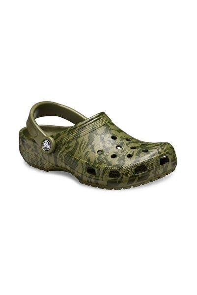 Crocs Classic Printed Camo Clog  Terlik
