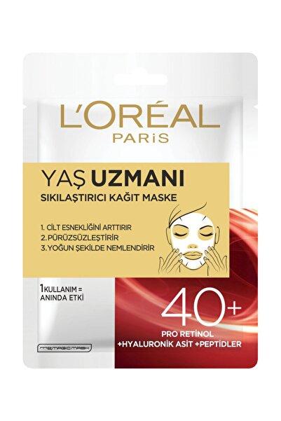 L'Oreal Paris Yaş Uzmanı Sıkılş. Kağıt Maske 40+ 30G