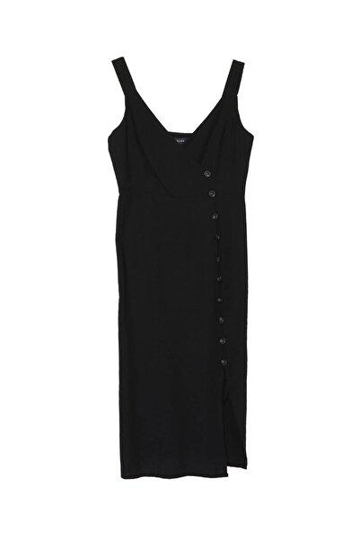 Fabrika Kadın Siyah Elbise 504498019 Boyner