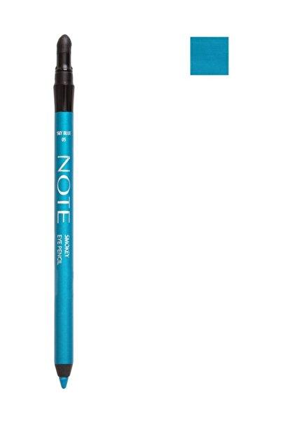 NOTE Suya Dayanıklı Mavi Göz Kalemi - Smokey Eye Pencil Waterproof 05 Sky Blue 8680705308056
