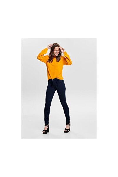 Only Skinny Fit Lacivert Renk Kot Pantolon 15182558