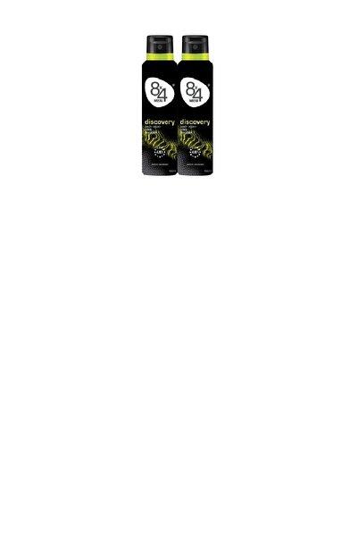 8x4 Discovery Pudrasız Erkek Deodorant 150 Ml X2 Adet