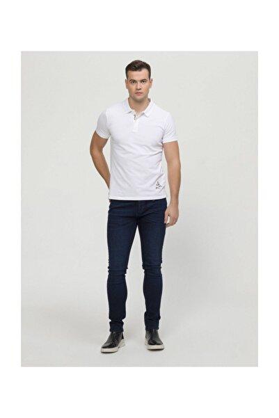 Xint Erkek Polo Yaka Nakış Detaylı Tişört