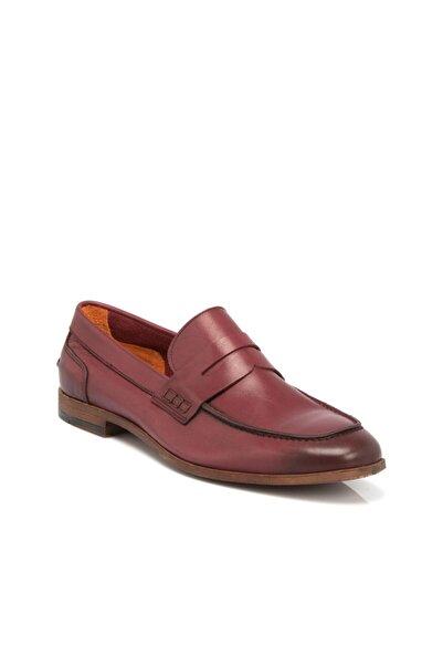 Tergan Bordo Deri Erkek Ayakkabı 54211ı2a