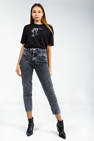 Collezione kadın Antrasit      pantolon