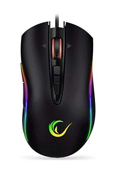 Everest Rampage Shine SMX-R15 10 Tuş 10000DPI RGB Oyuncu Mouse