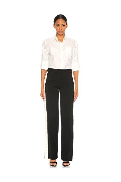 THEORY Çizgili Siyah Beyaz Pantolon