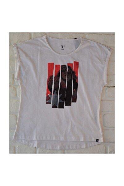 DC Ring Tee White Kadın Tişört