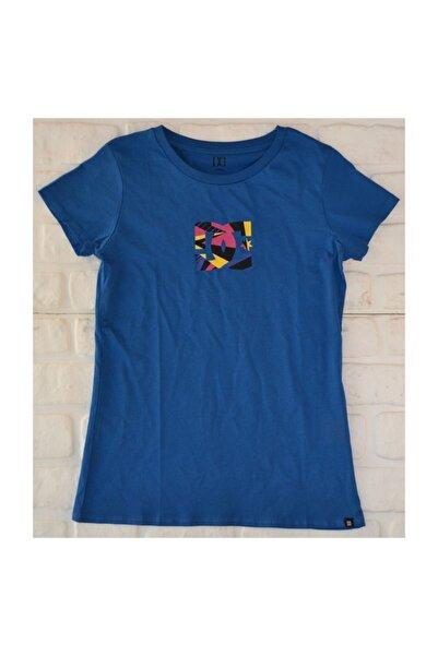 DC Geometric Tee Classic Blue  Kadın  Tişört