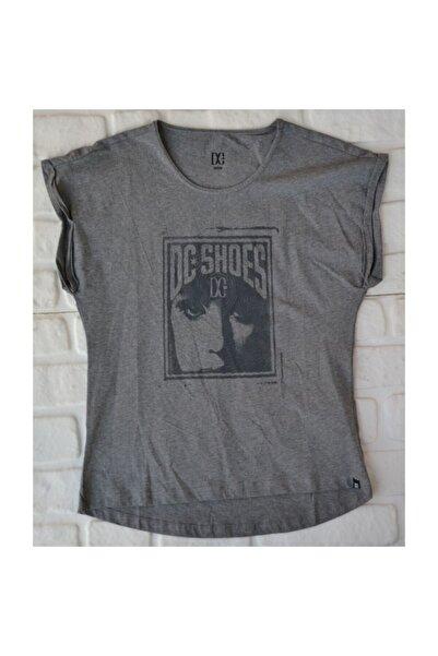DC Pangea Tee Frst Gry  Kadın Tişört