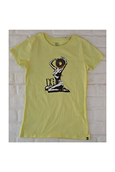 DC Camera Tee Celery  Kadın Tişört