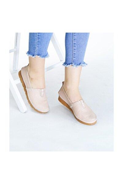 RİKEL DERİ Hakiki Deri Kadın Günlük Ayakkabı Rkl255