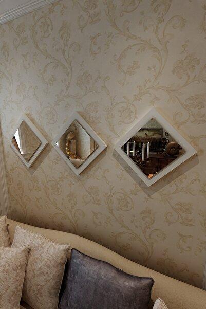 İkizlerçeyiz Venüs Dekoratif Ayna Ekru