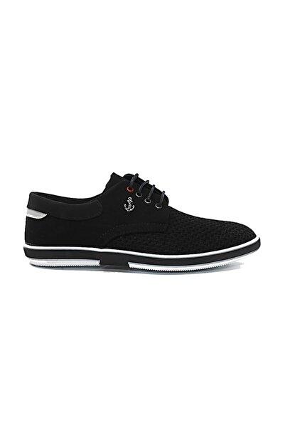 Atlanta Bağcıklı Siyah Erkek Ayakkabı