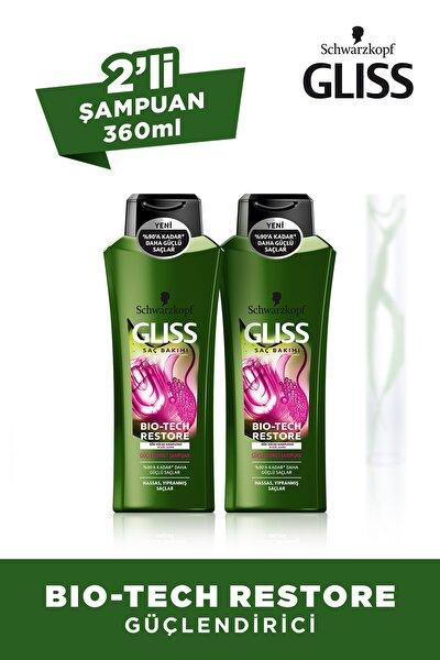 Bıo-Tech Güçlendirici Şampuan 360 ml X 2 Adet