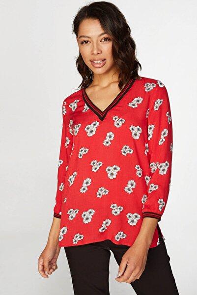 Faik Sönmez Kadın Kırmızı Bluz 38453 U38453