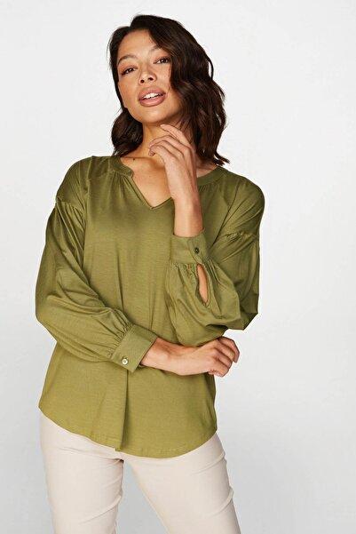 Faik Sönmez Kadın Yeşil Tunik 38824 U38824