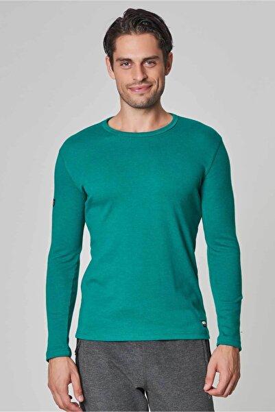 bilcee Mavi Pamuk/Poly Erkek  Sweatshirt DW-2324