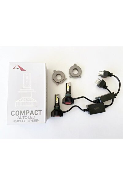 Forza Aliya H4 Mini Led Xenon 12-24v 8000 Lümen 6000k Şimşek Etkili