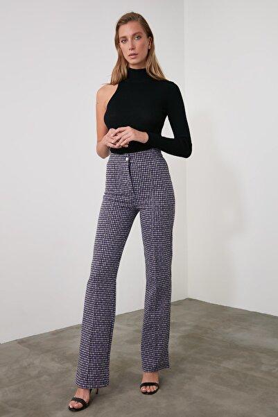 TRENDYOLMİLLA Çok Renkli Flare Örme Pantolon TWOAW21PL0479