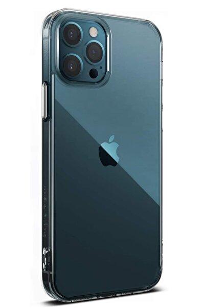 MobilCadde Dafoni Aircraft Iphone 12 / Iphone 12 Pro 6.1 Inç Ultra Ince Şeffaf Silikon Kılıf