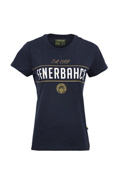 Fenerbahçe Kadın Lacivert Trıbun Est T-Shirt 1907