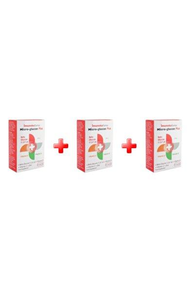 Imuneks Micro-glucan Plus 30 Kapsül 3^lü Paket