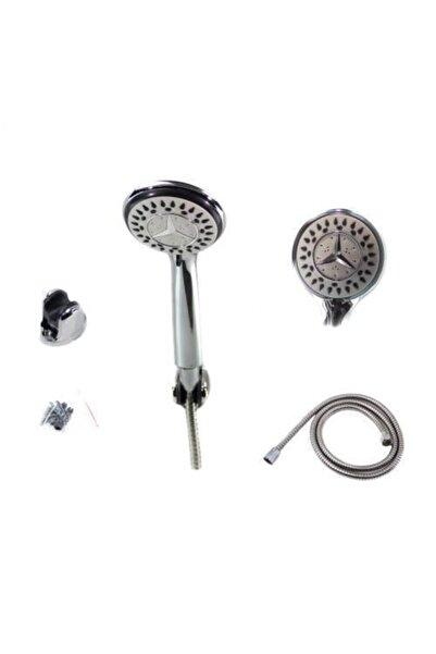 serline Gümüş Duş Başlığı Duş Seti Ve Sistemleri Askı Aparatlı (2124)
