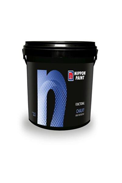 Filli Boya Nippon Paint Chalky Kara Tahta Boyası Siyah 2,5 L.