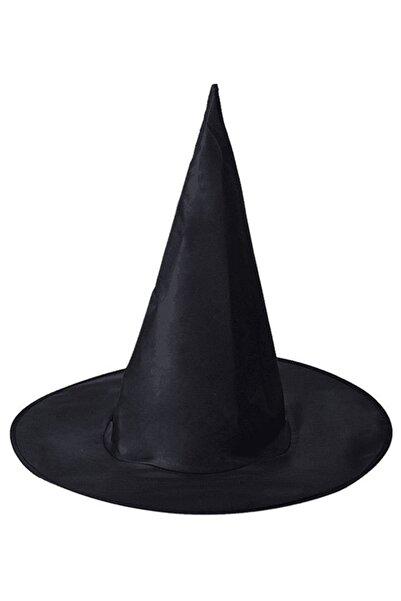 Partijet Halloween Siyah Cadı Şapkası