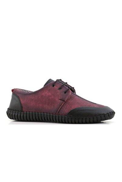 MYY Ayakkabı Erkek Bordo Günlük Ayakkabı Myy-9901