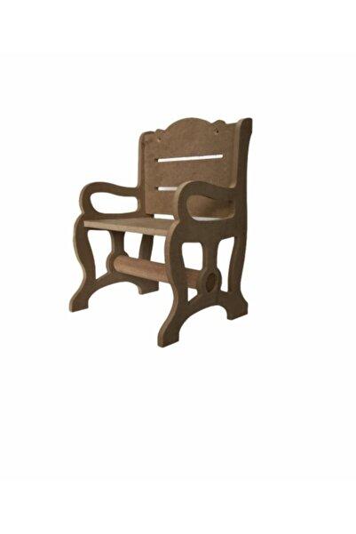 Karin Boyanabilir Ahşap Peçetelik Sandalye 25x18x16