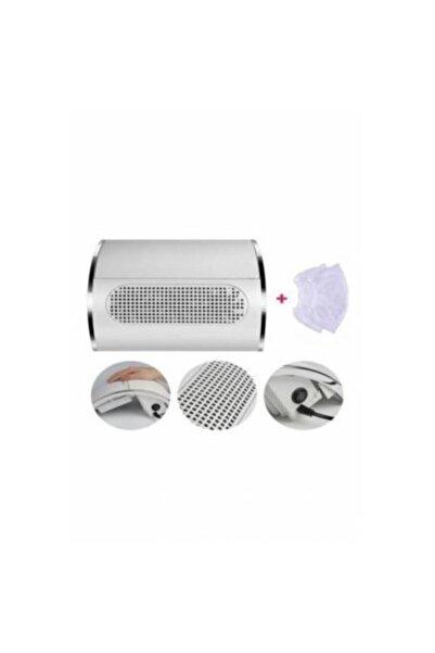 NAIL Protez Tırnak Toz Toplama Cihazı 3 Motorlu 40 Watt Yüksek Cekiş Gücü 2 Adet Yedek Toz Torbası