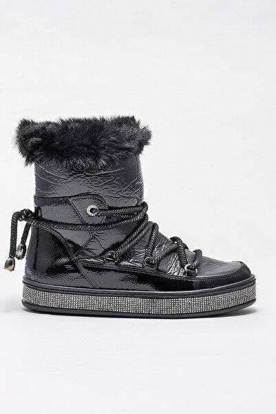 Elle Shoes ROSSELLEE Siyah Kadın Bot