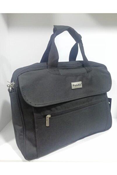 Polaris Unisex Siyah Laptop & Evrak Çantası