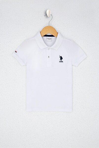 U.S. Polo Assn. Beyaz Erkek Çocuk T-Shirt
