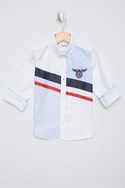 U.S. Polo Assn. Beyaz Erkek Çocuk Gömlek