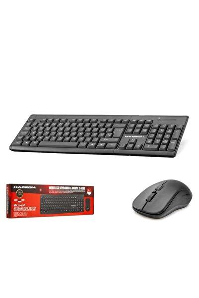 HADRON Wireless Kablosuz Q Klavye+mouse Set Hd840