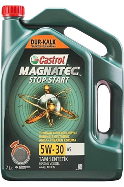 CASTROL Magnatec Stop-start 5w-30 A5 7 Lt Motor Yağı